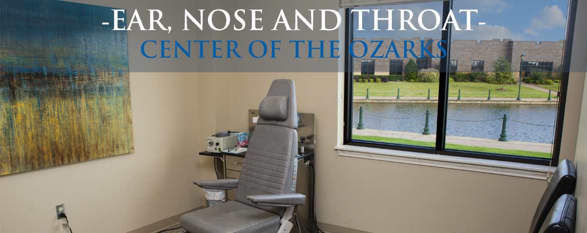 ent of the ozarks exam room