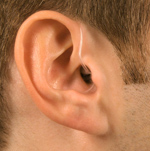 Receiver-in-the-ear (RITE) hearing aid
